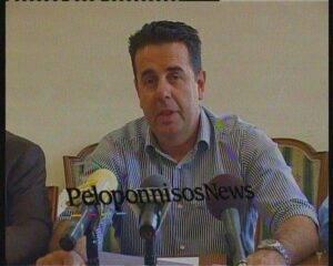 Ο Δήμαρχος Ναυπλίου κ. Δημήτρης Κωστούρος